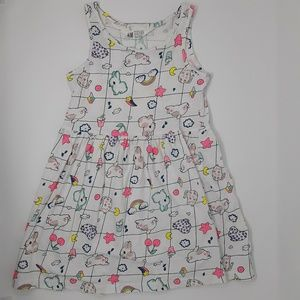 H&M Sleeveless Dress Girl's 4-6